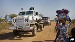 Oklopna vozila UN u Južnom Sudanu