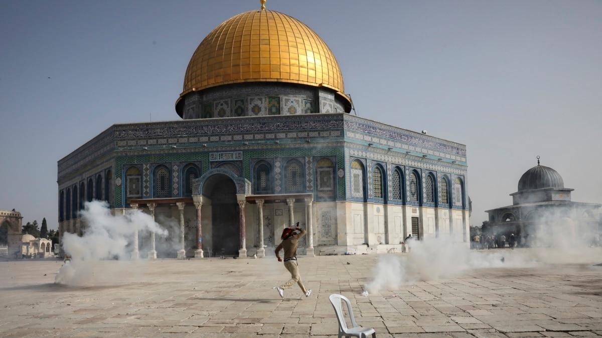 Kekerasan Terjadi Lagi di Dekat Tempat Suci di Yerusalem