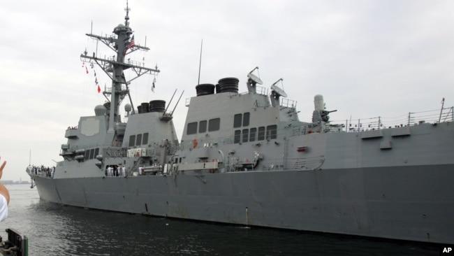 """美军舰驶近彼得大帝湾 挑战俄""""过度海洋权主张"""""""