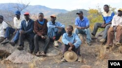 Some intimidated MDC-T supporters were recently living in a mountainous area in Muzarabani, Mashonaland Central Province.