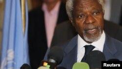 شام کے لیے اقوام متحدہ کے سفارت کار کوفی عنان