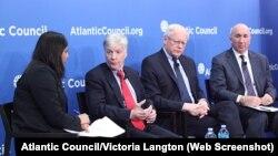Ryan Crocker, James Jeffrey ve Michael Barbero, Atalantik Konseyi'ne konuk oldu.
