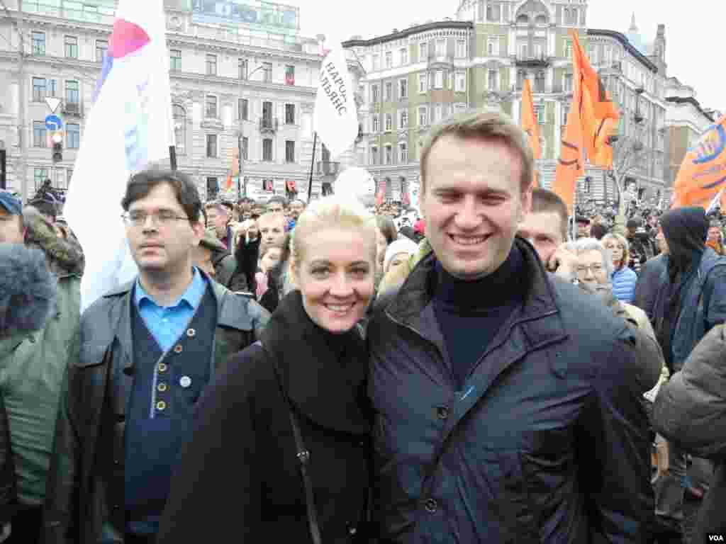 Семейное фото Навальных для «Голоса Америки»
