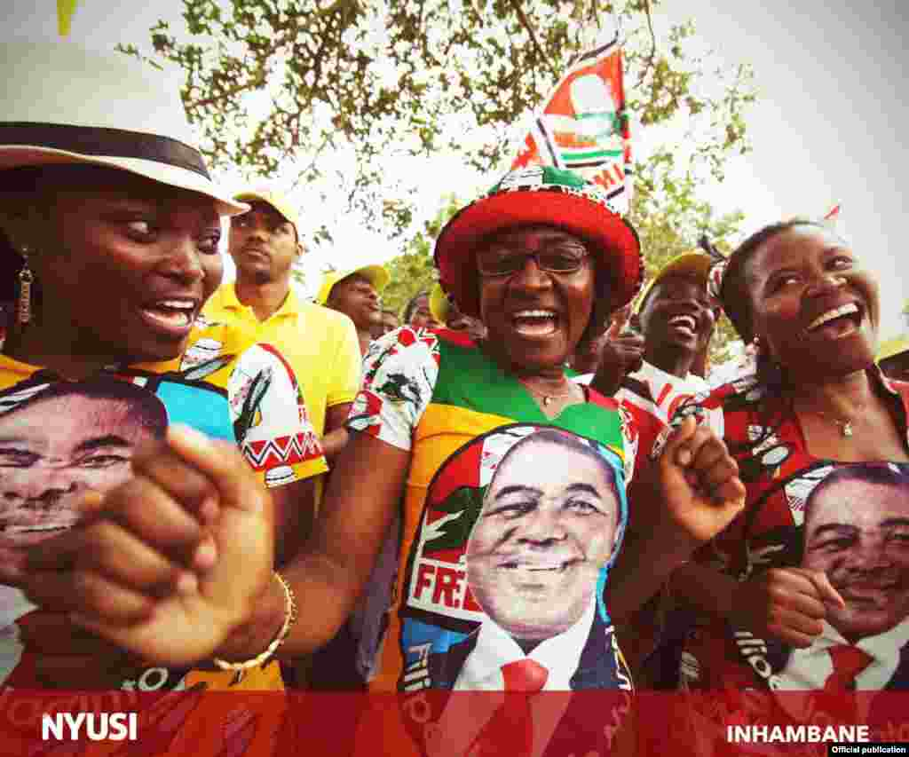 Filipe Nyusi em Inhambane. Moçambique 2014