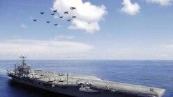 نیروی دریایی آمریکا خدمه یک قایق ایرانی را نجات داد