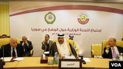 Pertemuan para pemimpin Liga Arab di Doha, Qatar untuk membahas rencana perdamaian bagi Suriah (17/12).
