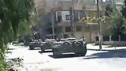ادامه سرکوب معترضان سوری ۱۲ کشته بر جا گذاشت