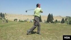 ورزش گلف در هرات
