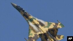 SU-35 战斗机(资料图片)
