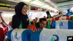 در این خط هوایی جدید اسلامی، مشروبات الکلی و گوشت خوک سرو نمی شود.