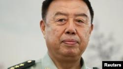 前中國軍委副主席范長龍(2017年8月資料照)