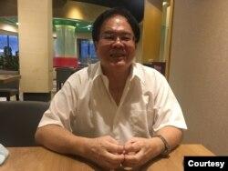 台湾国际战略学会理事长王昆义。(陈筠摄)