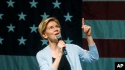 الیزابت وارن سناتور دموکرات یکی از نامزدهای انتخابات ۲۰۲۰ است.