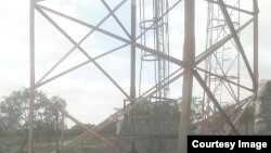 Mnara wa mawasiliano ulioshambuliwa na al-Shabaab