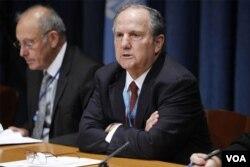 Ông Juan Mendez, báo cáo viên đặc biệt của Liên hiệp quốc về tra tấn.