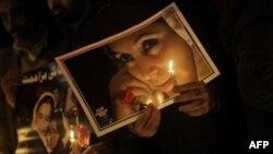 Архив: Пакистан. 27 декабря 2010 года - акция поминовения Беназир Бхутто, убитой в 2007 году