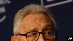 前美国国务卿基辛格(资料照片)
