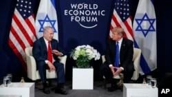 Trump encontra-se com Benjamin Netanyahu