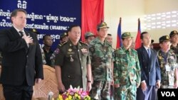 The Angkor Sentinel exercises, held at the National Training Center for Multinational Peacekeeping Forces in Kampong Speu province, is the fourth to be held since 2010.