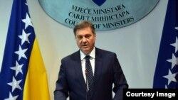Denis Zvizdić, predsjedavajući Vijeca ministara BiH