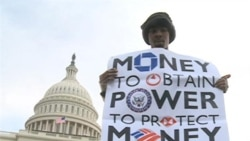 Occupy Protesters Swarm US Capitol in Washington