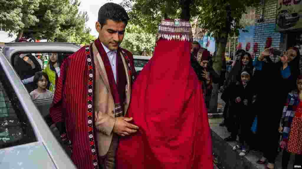 عروسی سنتی در شهر کلات خراسان رضوی. عکس: عطا رنجبر، ایرنا