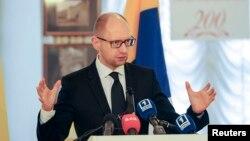 Perdana Menteri Ukraina Arseny Yatseniuk (Foto: dok).