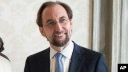 Верховный комиссар ООН по правам человека Зейд Раад аль-Хуссейн