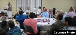 """MCC mengadakan acara buka puasa bersama yang dijuluki """"Taking Heart Iftar Dinner"""" sejak tahun 2005 (foto: MCC)."""
