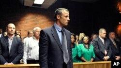 皮斯托利斯出席保釋聽證