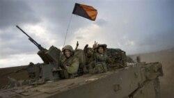 آرشیو: تصویری از سربازان اسراییلی در بازگشت از جنگ غزه