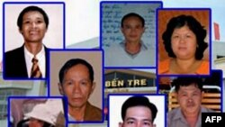 Bảy nhà dân chủ bị đưa ra xét xử ngày 30/5 tại tòa án Nhân dân tỉnh Bến Tre