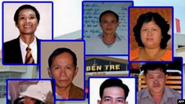 Bản án của 4 nhà hoạt động đất đai ở Bến Tre bị quốc tế lên án