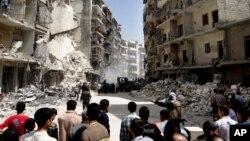 Алеппо, Сирия. 7 апреля 2013 года
