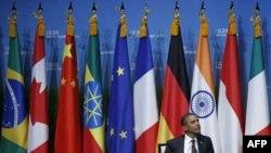 Президент США Барак Обама на саммите в Сеуле