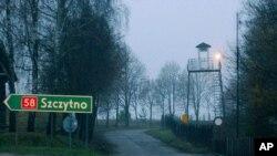 Lokasi yang diduga penjara rahasia CIA, di Stare Kiejkuty, Polandia (foto: dok).