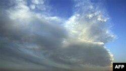 Oblak pepela i dima iznad vulkana Popokatepetl