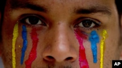 Los estudiantes venezolanos llevan más de un año protestando contra el gobierno del presidente Nicolás Maduro.