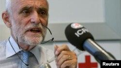 ເຈົ້າໜ້າທີ່ສະພາກາແດງສາກົນ ຫລື ICRC