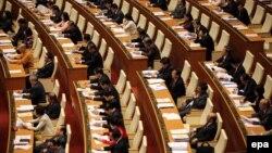 Các đại biểu tham dự phiên khai mạc kỳ họp thứ 11 Quốc hội khóa XIII ở Việt Nam. (Ảnh tư liệu)