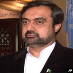 وفاقی وزیر شوکت اللہ خان