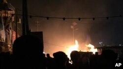 Sadr semtindeki patlamanın ardından