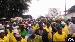 Manifestação anterior no Cafunfo