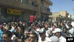 Suriyada namoz ketidan 15 namoyishchi o'ldirilgan