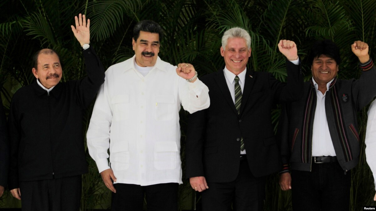 Leaders of Leftist Latin American Regional Group Meet in Cuba
