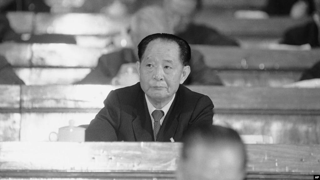 前中共总书记胡耀邦(资料照片)