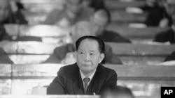 FILE - Former Chinese Communist Party General Secretary Hu Yaobang.