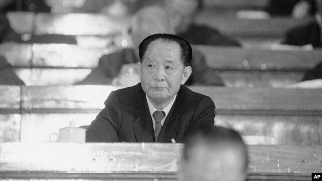 Cố Tổng bí thư Đảng Cộng Sản Trung Quốc Hồ Diệu Bang. (Ảnh chụp năm 1987).