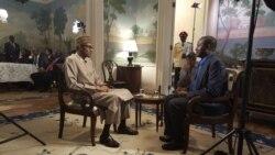 """Shugaba Muhammadu Buhari Yayi Hira Da VOA Kan Zuwansa Amurka - 11'08"""""""