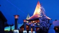 صندوق پستی در دهکده بابانوئل فنلاند پر شده و ديگر جا ندارد